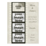 Vintage Film Strip Coming Soon Photo Postcards