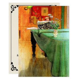 Vintage Fine Art Music Piano Recital Invitation