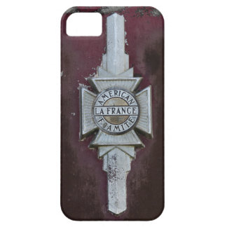 Vintage Fire Truck Emblem Barely There iPhone 5 Case
