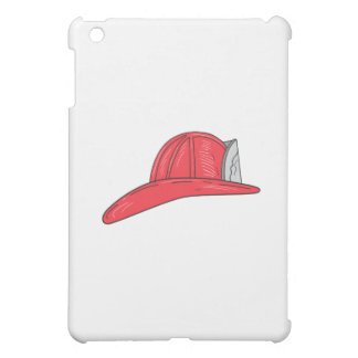Vintage Fireman Firefighter Helmet Drawing Case For The iPad Mini