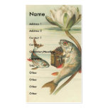 Vintage Fish Business Card Template