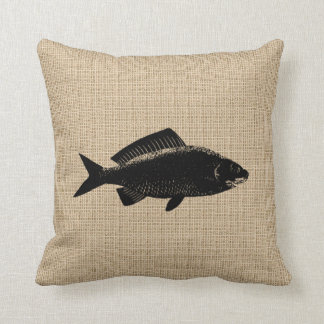 Vintage Fish Pillow Throw Cushions