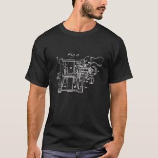 Vintage Fishing Reel Art T-Shirt
