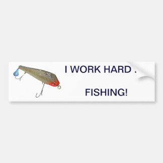 Vintage Fishmaster Jerry Sylvester Flaptail Lure Bumper Sticker