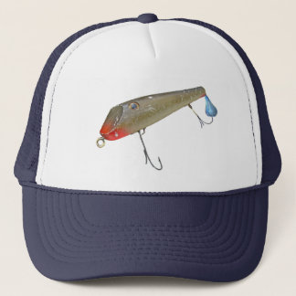 Vintage Fishmaster Jerry Sylvester Flaptail Lure Trucker Hat