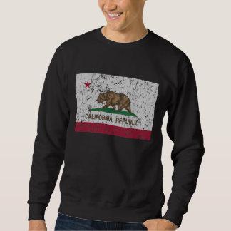Vintage Flag of California State Sweatshirt