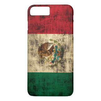 Vintage Flag of Mexico Distressed iPhone 7 Plus Case