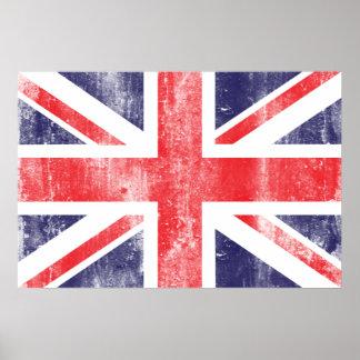 Vintage Flag Poster