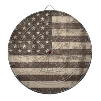 Vintage Flag United States Dartboard