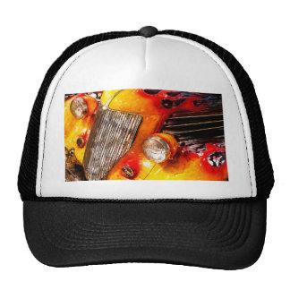 Vintage flame Hot Rod Mesh Hat