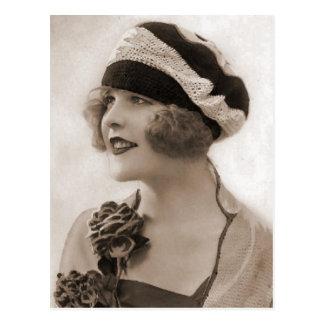 Vintage Flapper Photograph 115 Post Cards