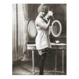 Vintage Flapper Photograph 188 Postcard