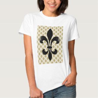 Vintage Fleur de lis T-shirts