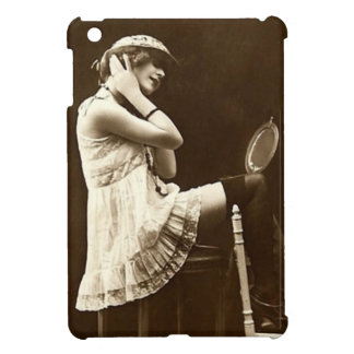Vintage Flirty Girl iPad Mini Case