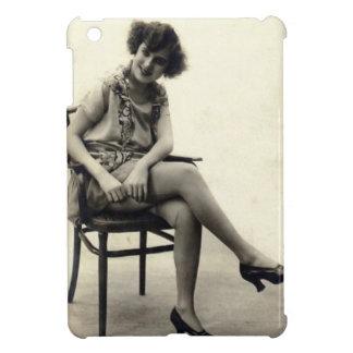 Vintage Flirty Girl iPad Mini Cases