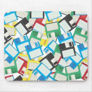 Vintage Floppy disks Mousepad