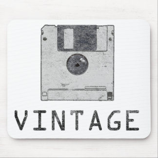 Vintage Floppy Mousepad