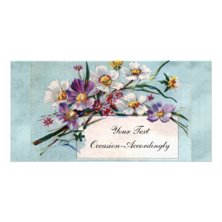 Vintage Flora Card For All-Occasion Photo Greeting Card