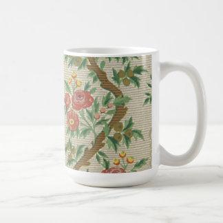 Vintage Floral (3) Coffee Mugs