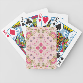 Vintage Floral Abstract Poker Deck