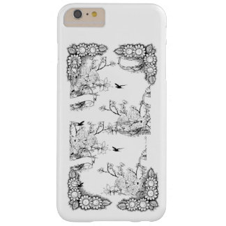 vintage floral and birds iPhone / iPad case