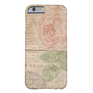 Vintage Floral Collage Barely There iPhone 6 Case