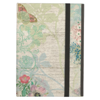 Vintage Floral Collage iPad Air Cover
