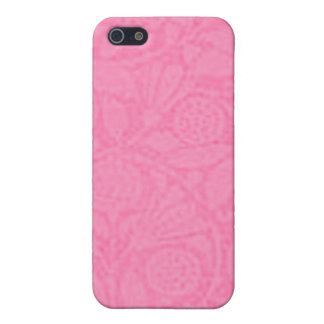 Vintage Floral Cotton Candy Pink iPhone 5/5S Cover