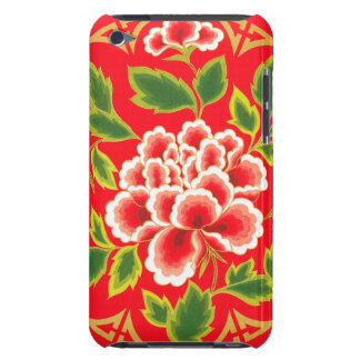 Vintage Floral Design  Barely There iPod Cases