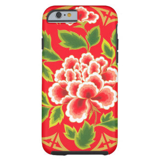 Vintage Floral Design Tough iPhone 6 Case