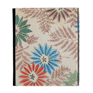 Vintage Floral Design iPad Case