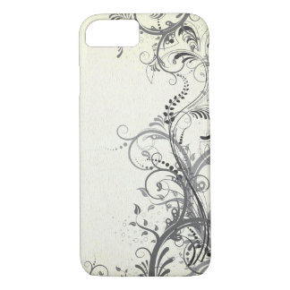 Vintage floral design iPhone 7 case
