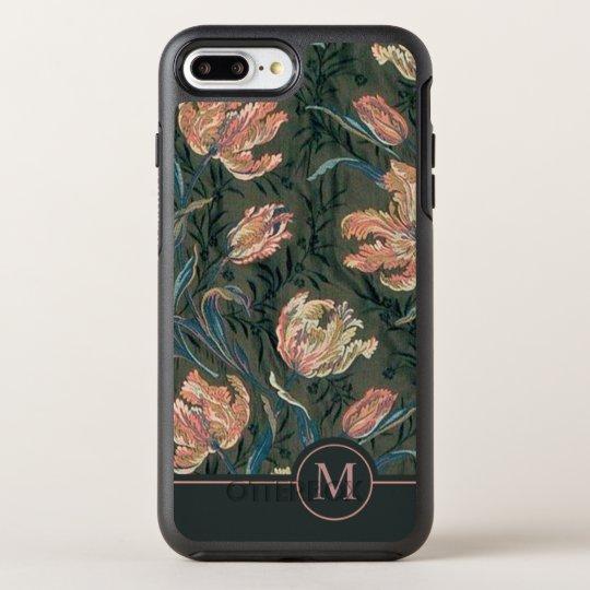 Vintage Floral Design Monogram | Phone Case