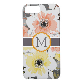 Vintage Floral Elegant Monogram #16 iPhone 8/7 Case