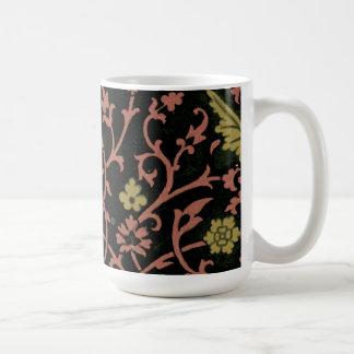 Vintage Floral Fabric (13) Coffee Mug