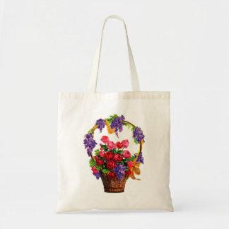 Vintage-Floral/Gardening Tote Bag
