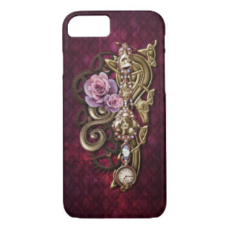 Vintage Floral Girly Steampunk iPhone 8/7 Case