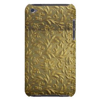 vintage,floral,gold,elegant,chic,beautiful,antique iPod Case-Mate cases