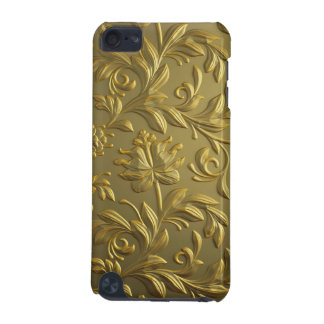 vintage,floral,gold,elegant,chic,beautiful,antique iPod touch (5th generation) cover