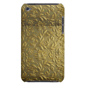 vintage,floral,gold,elegant,chic,beautiful,antique iPod touch cover