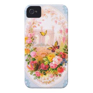 Vintage Floral Iphone 4S Case Case-Mate iPhone 4 Case