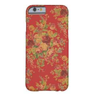 Vintage Floral iPhone 6 case Barely There iPhone 6 Case