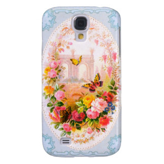 Vintage Floral iPhone Case 3G Samsung Galaxy S4 Covers