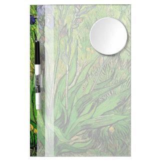 Vintage floral  Iris by Vincent van Gogh Dry-Erase Board