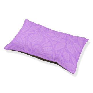 Vintage Floral Lavender Purple Pet Bed