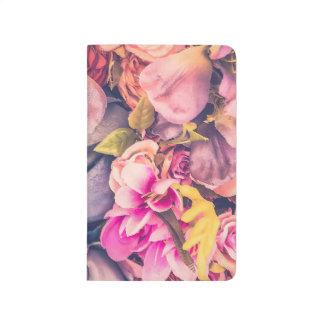 Vintage Floral Lined Pocketbook - BlisseysBoutique Journal