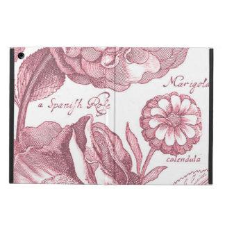 Vintage Floral Marigolds Case For iPad Air