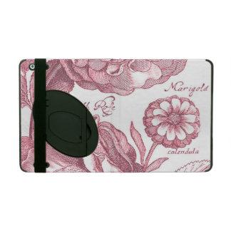 Vintage Floral Marigolds iPad Folio Case