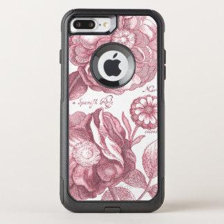 Vintage Floral Marigolds OtterBox Commuter iPhone 8 Plus/7 Plus Case