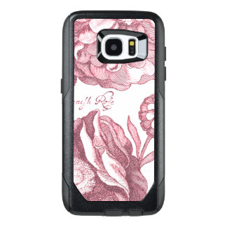 Vintage Floral Marigolds OtterBox Samsung Galaxy S7 Edge Case